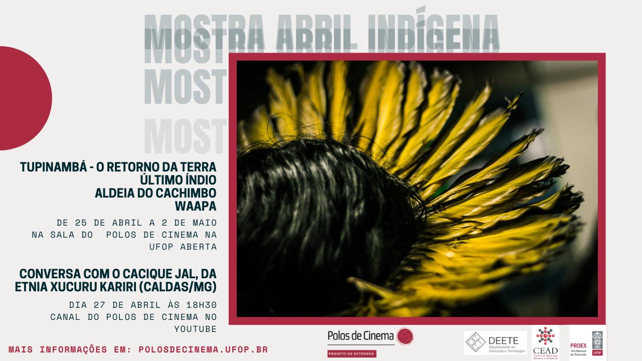 banner mostra abril indígena